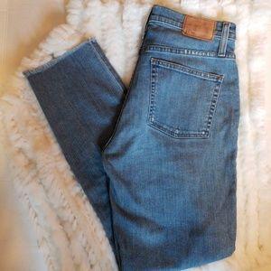 J.Crew Vintage Crop Frayed Hem Jeans